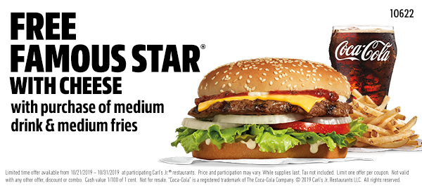 Carls Jr. Coupon